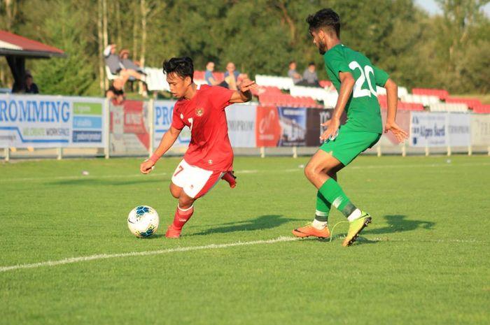Timnas U-19 Indonesia melawan Arab Saudi