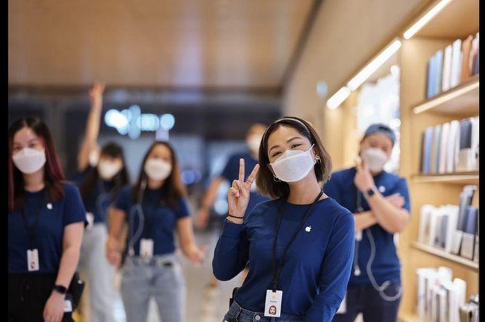 Melihat Kemasan Masker Khusus Karyawan Apple, Desain Asal ...