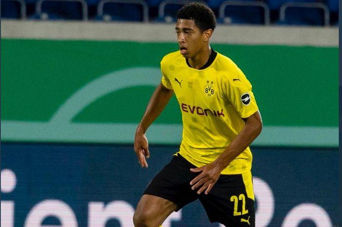 Pemain muda Borussia Dortmund asal Inggris, Jude Bellingham.