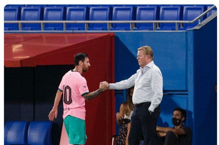 Ronald Koeman telah memimpn laga keduanya bersama Barcelona saat Blaugrana menang 3-1 atas Girona dalam laga persahabatan di Stadion Johan Cruyff, Rabu (16/9/2020) waktu setempat atau Kamis dini hari WIB.