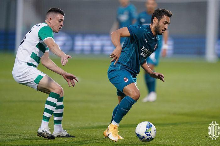 Menang atas Shamrock Rovers, AC Milan Semakin Tak