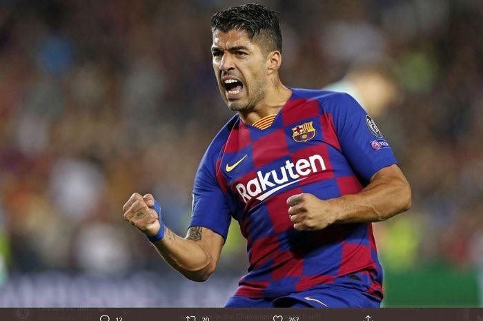 Striker Barcelona, Luis Suarez, dipastikan tidak akan direkrut Juventus.