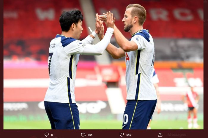 Duet Harry Kane dan Son Heung-Min Lebih Bagus Ketimbang Mohamed Salah dan  Roberto Firmino - Bolasport.com