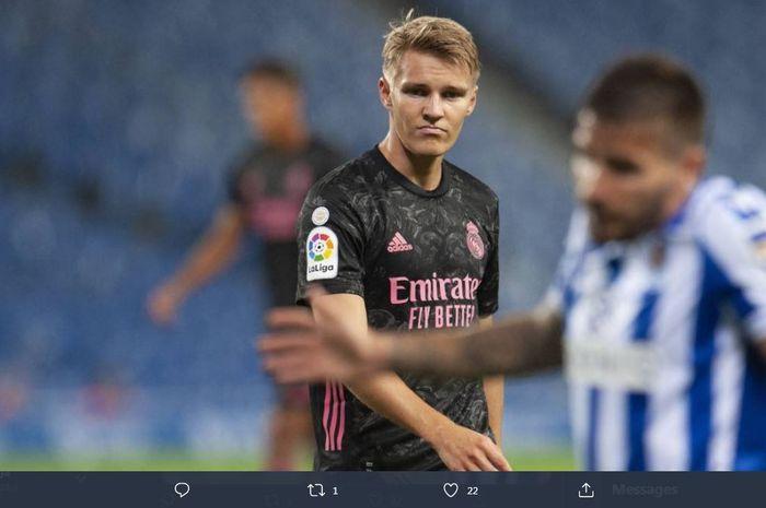 Playmaker belia Real Madrid, Martin Odegaard.