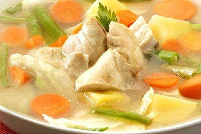 Sup ayam bisa untuk menghangatkan tubuh
