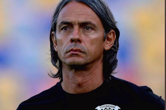 Pelatih Benevento, Filippo Inzaghi.