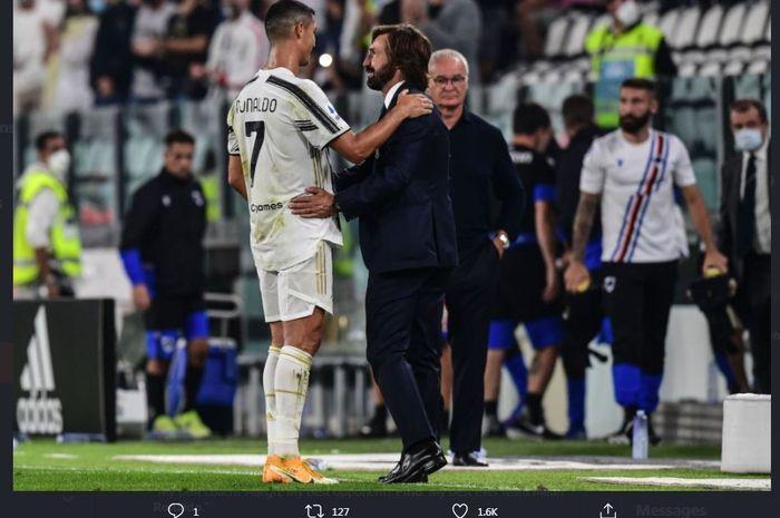 Juventus Vs Barcelona - Jika Kembali, Cristiano Ro