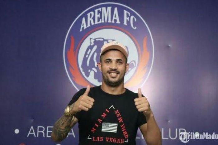 Pemain baru Arema FC, Caio Ruan.