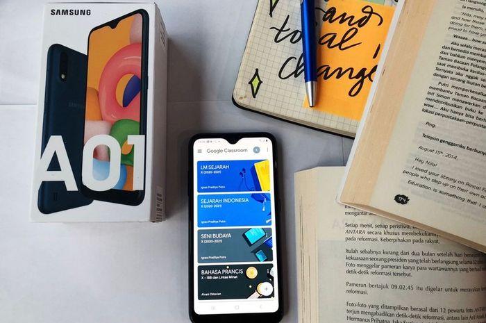 Hape Sejutaan Samsung Galaxy A01 Core, A01, dan A1