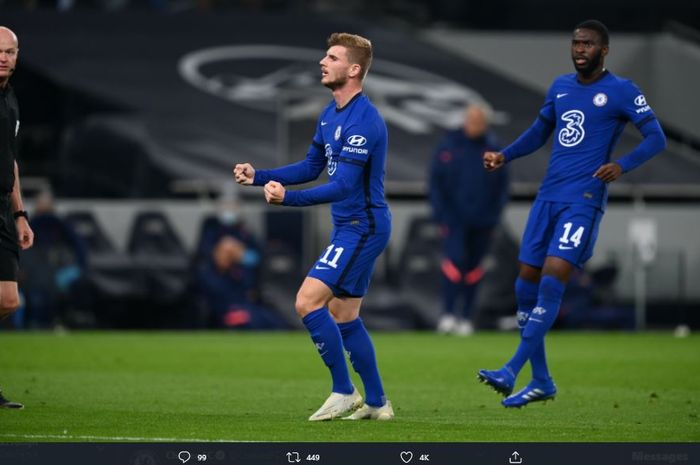 Susunan Pemain Chelsea Vs Sevilla Timo Werner Pimpin The Blues Bolasport Com
