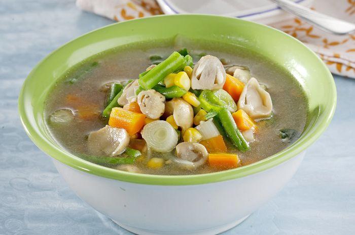 Sup Jamur Sayur