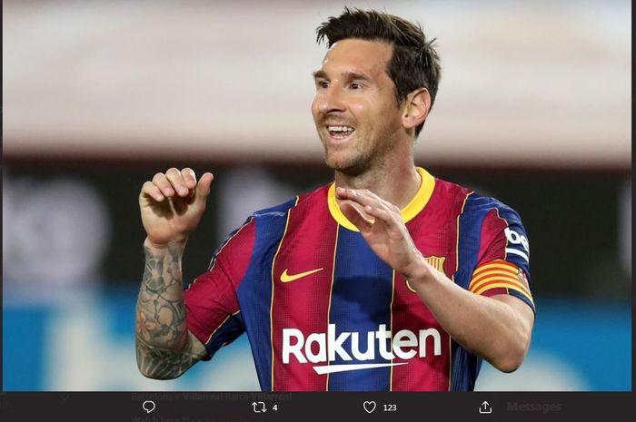 Bintang Barcelona, Lionel Messi.