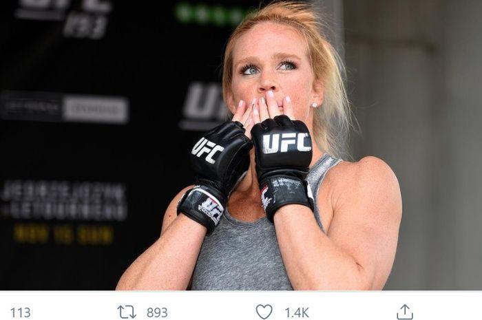 Petarung UFC, Holly Holm.