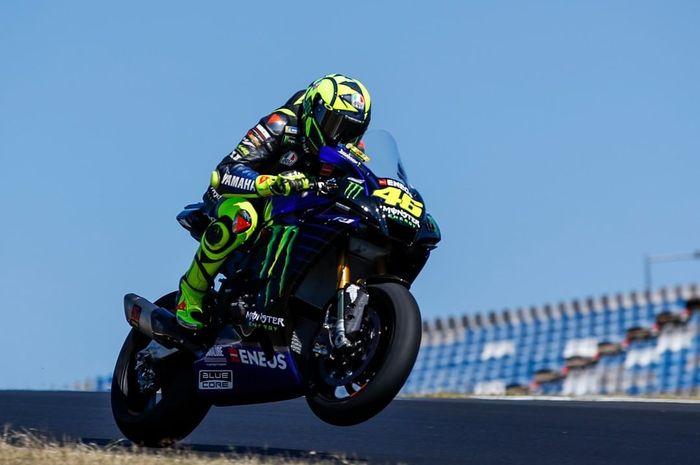 Valentino Rossi menargetkan podium pada balapan MotoGP Prancis 2020