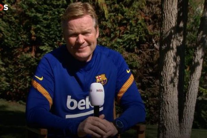 Pelatih Barcelona, Ronald Koeman membuat Lionel Messi seperti robot di Barca.