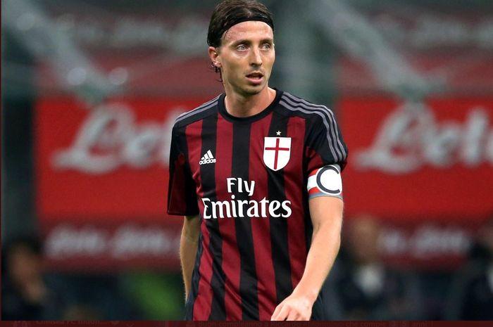 Eks gelandang tengah AC Milan, Riccardo Montolivo.