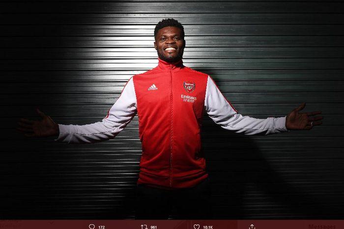 Gelandang anyar Arsenal, Thomas Partey.