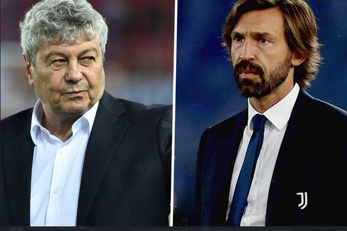 Duel guru versus murid bakal tersaji antara Mircea Lucescu dan Andrea Pirlo kala Dynamo Kyiv menjamu Juventus di laga pembuka Grup G Liga Champions 2020-2021.