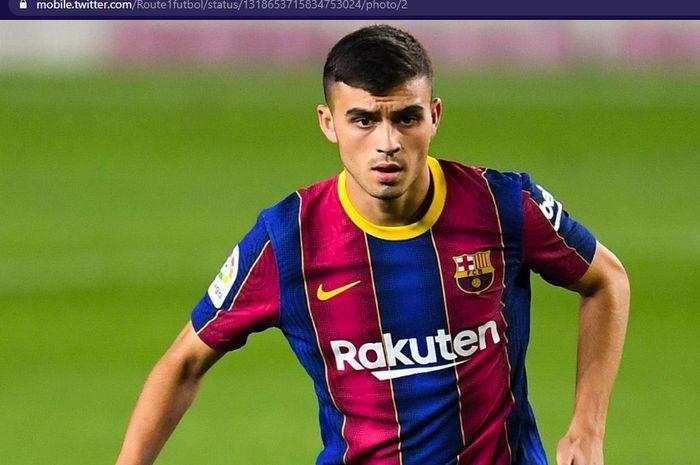 Pedri menyumbang satu gol dalam kemenangan 5-1 Barcelona atas Ferencvaros dalam laga Grup G Liga Champions, Selasa (20/10/2020) waktu setempat atau Rabu dini hari WIB.