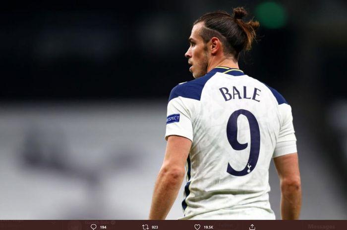 Penyerang sayap Tottenham Hotspur, Gareth Bale.