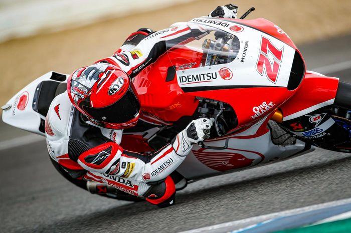 Pembalap Indonesia, Andi Farid Izdihar atau Andi Gilang hampir saja mendapatkan poin pertamanya pada sesi balapan Moto2 Eropa 2020 Minggu (8/11/2020).