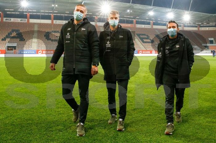 Egy Maulana Vikri kala Lechia Gdansk meraih hasil imbang 1-1 saat bertandnag ke kandang Zagliebe Lubin di Stadion Zagliebe, dalam laga pekan ke-8 Ekstraklasa, Jumat (23/10/2020) atau Sabtu  dini hari WIB.