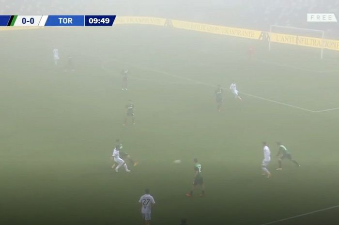 Sassuolo dipaksa tertahan 3-3 saat lawan Torino dalam laga pekan ke-5 Liga Italia di Stadion Mapei - Citta del Tricolore, Jumat (23/10/2020) malam atau Sabtu dini hari WIB.