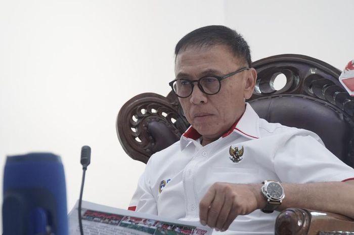 Ketua Umum PSSI, Mochamad Iriawan, saat menjadi pembicara dalam webinar yang diselenggarakan oleh media BaBe (Baca Berita), Selasa (27/10/2020).