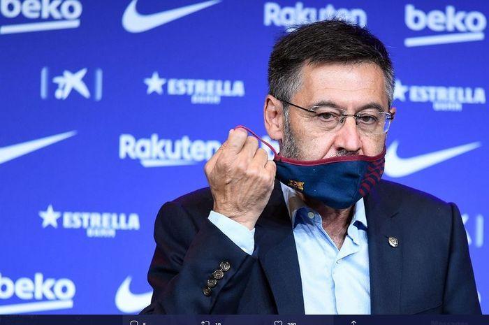 Presiden klub Barcelona, Josep Maria Bartomeu.