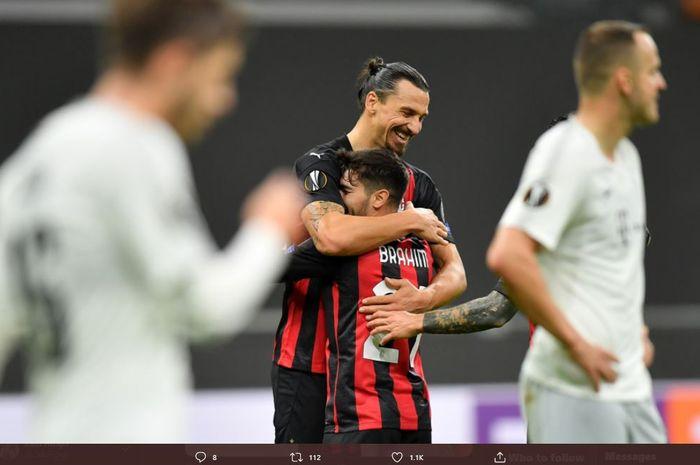 Buangan Real Madrid, Brahim Diaz, menyebut Zlatan Ibrahimovic jadi sosok yang bisa membuatnya bersinar di AC Milan.