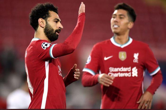 Liverpool selamat berkat tendangan penalti Mohamed Salah usai Joe Gomez melakukan blunder yang berujung skor sama kuat 1-1 di babak pertama.