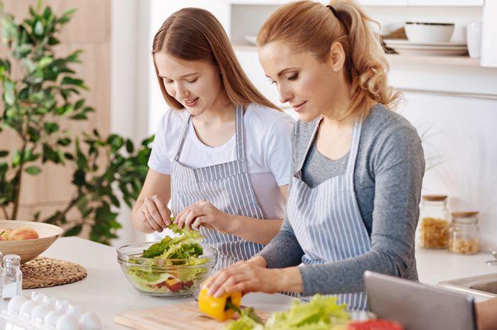 Ilustrasi diet bersama