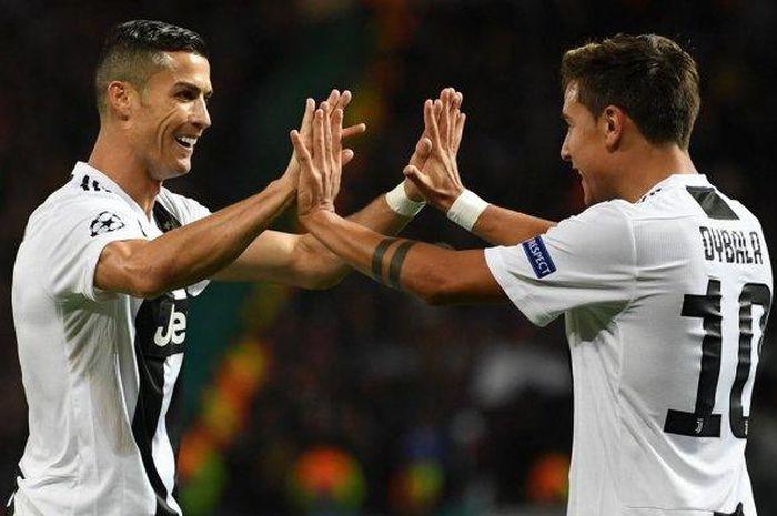 Posisi Ronaldo dan Dybala dalam Laga Lazio vs Juventus Liga Italia Jadi Perhatian Serius Del Piero