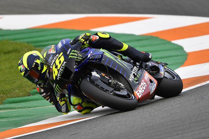 Hasil kualifikasi MotoGP 2020 Sabtu (14/11/2020) kembali belum memuaskan untuk, Valentino Rossi.