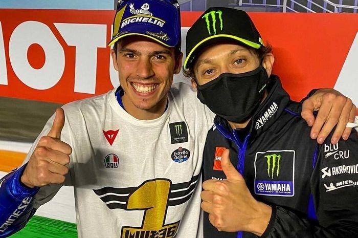 Valentino Rossi ungkap komentarnya usai Joan Mir berhasil merebut gelar juara dunia MotoGP