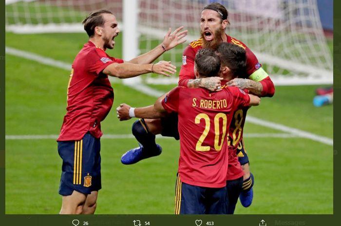 Spanyol Hancurkan Jerman, 1 Pemain Barcelona Balas ...