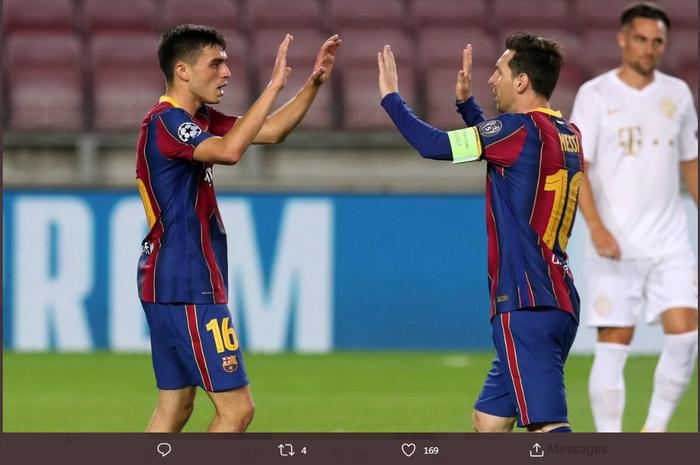 Selain Lionel Messi dan Pedri, ada hubungan guru dan murid lainnya yang melibat beberapa bintang sepak bola.