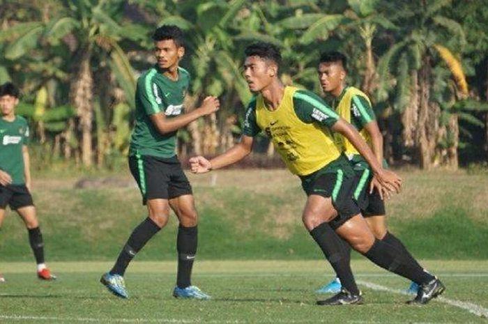 Zamzani saat mendapatkan panggilan mengikuti latihan bersama Timnas U-22 Indonesia, 2019 lalu.