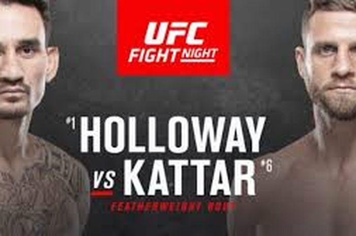 Duel Max Holloway vs Calvin Kattar bakal membuka gelaran UFC di tahun 2021.