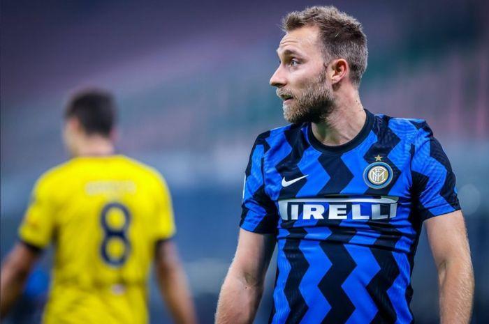 Gelandang serang Inter Milan, Christian Eriksen.