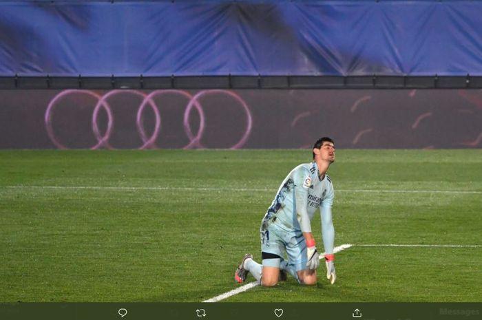 Real Madrid harus kalah tipis dari Alaves di kandang sendiri dengan skor 1-2 dan ditimpa dua kesialan selama laga berlangsung.
