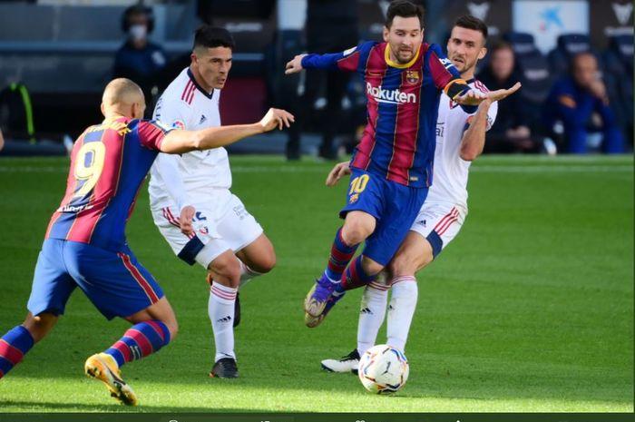 Eks Liverpool, Iago Aspas, jadi yang paling kreatif di Liga Spanyol musim ini, sementara Lionel Messi melanjutkan catatan hebat bersama Barcelona.