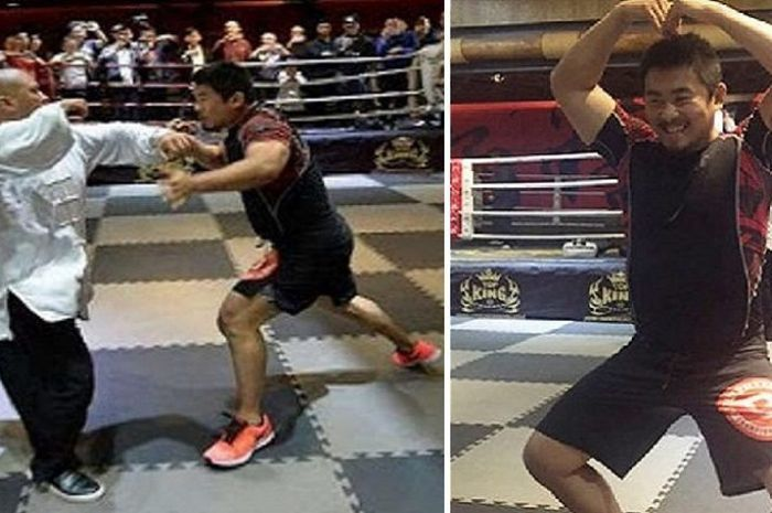 Petarung MMA pembantai master para master di China, Xu Xiaodong.