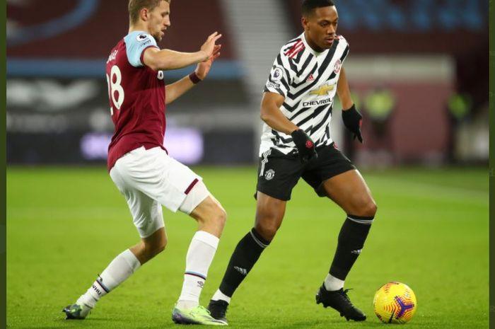 Hasil Babak I Man United Disiksa 12 Tembakan West Ham Unggul 1 0 Bolasport Com