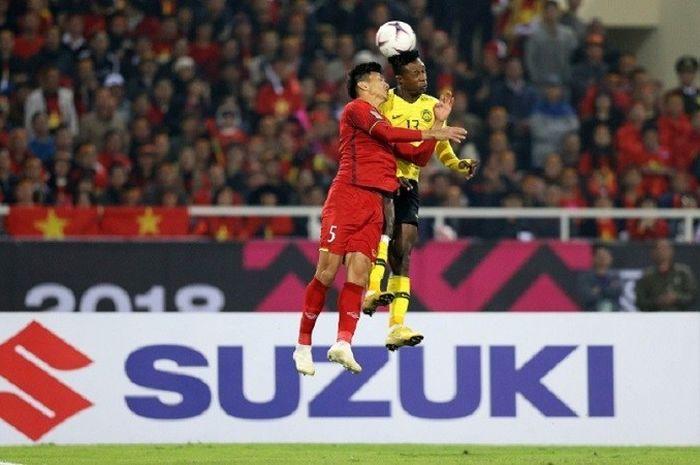 Pertandingan Piala AFF SUzuki Cup 2018.