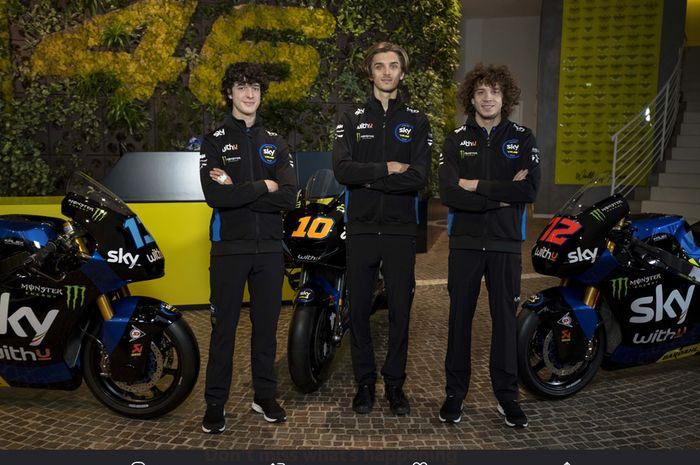 About The Vr46 Team Partners In Motogp Valentino Rossi S Best Friend Our Hearts Are Yamaha But Netral News