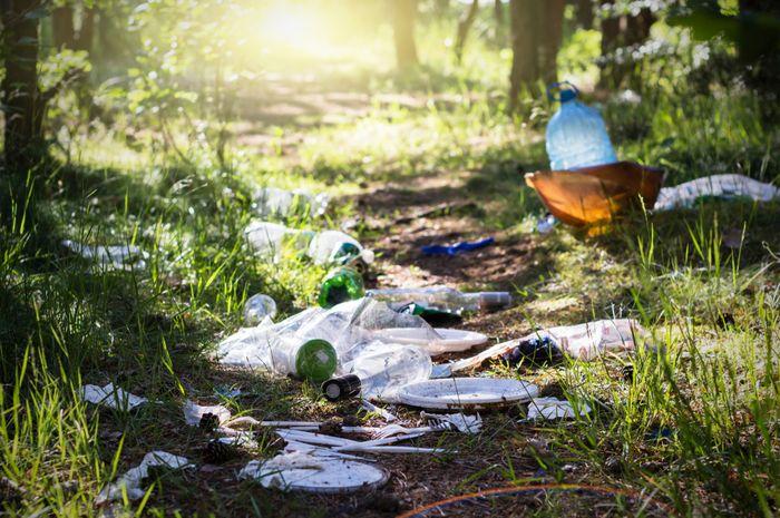 Perilaku gemar buang sampah sembarangan lahir dari pola pikir yang terbentuk dari kondisi lingkungan.