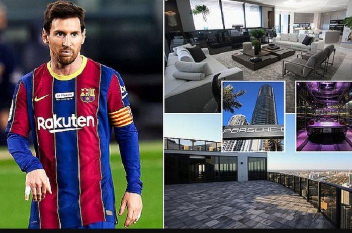 Apartemen Lionel Messi di Miami.