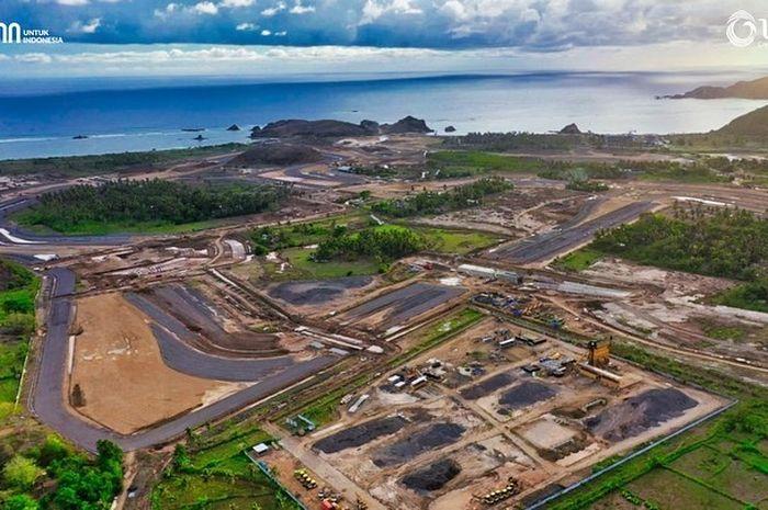 Sirkuit Mandalika di Lombok Tengah, Nusa Tenggara Barat (NTB) yang klaimnya bakal digunakan untuk MotoGP 2021.