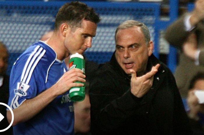 Avram Grant ketika masih melatih Chelsea.